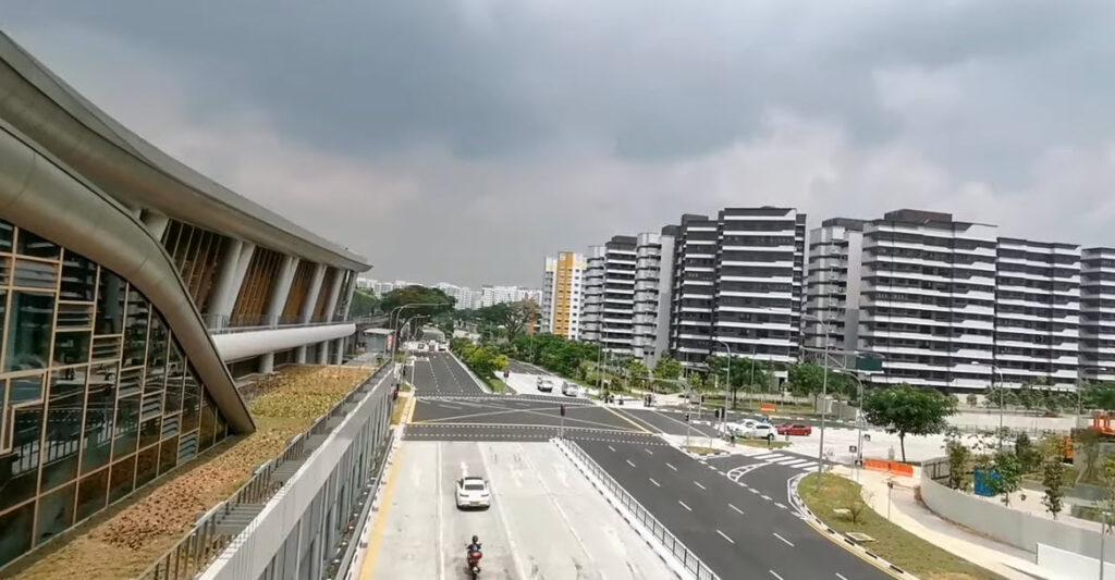 The Watergardens at Canberra Located at Canberra MRT Station by UOL Group